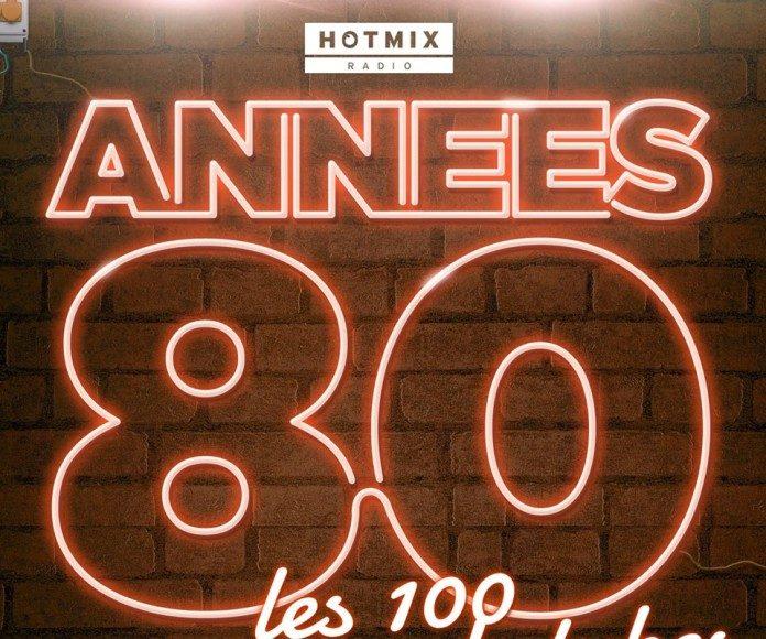 compilation de 100 titres de légende des années 80