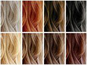 couleurs de cheveux à la mode