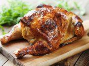 poulet rôti au four