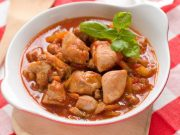 ragoût de poulet aux patates douces
