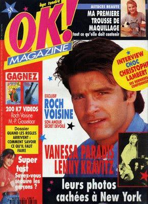 magazine avec Roch Voisine