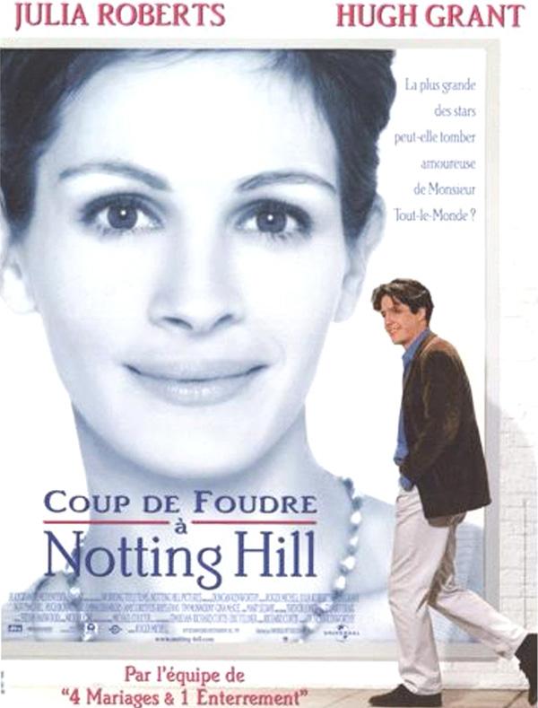 Coup de foudre à Notting Hill comédie romantique
