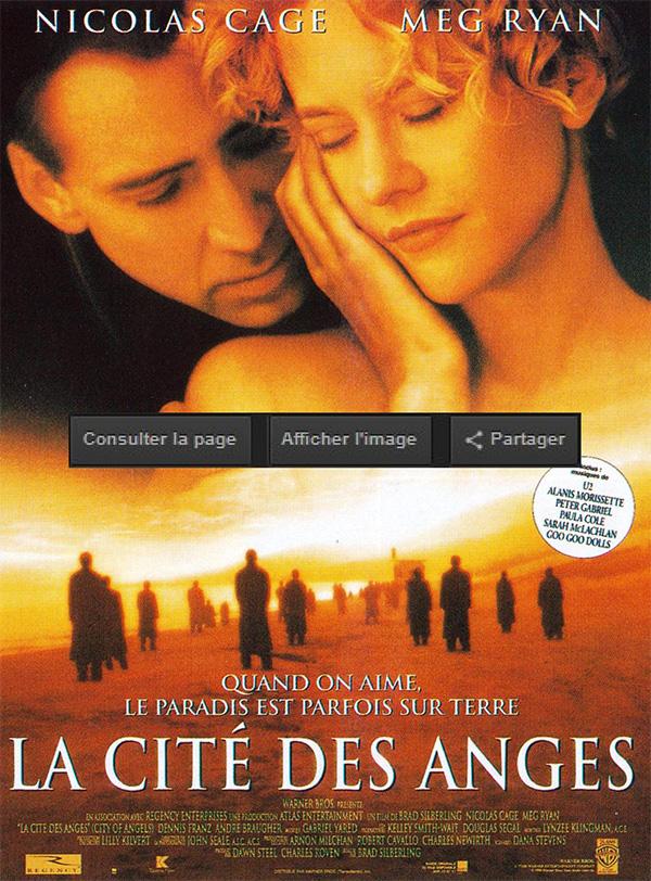 La Cité des anges comédie romantique
