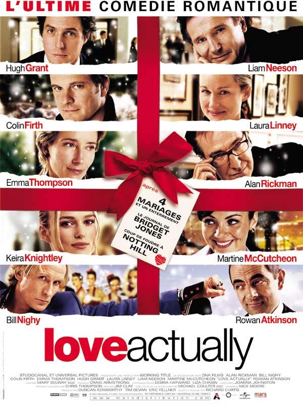 Love Actually comédie romantique