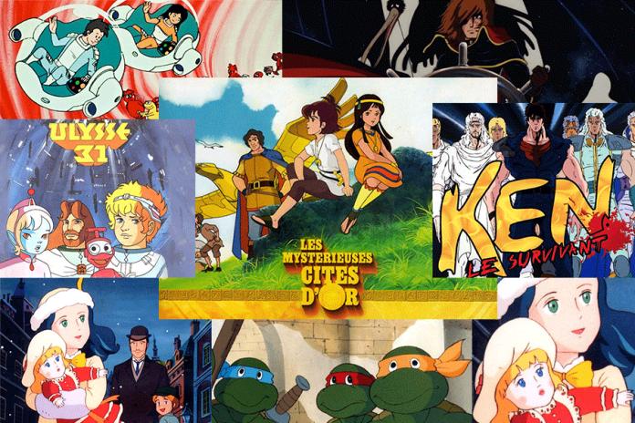 meilleurs dessins animés des années 80