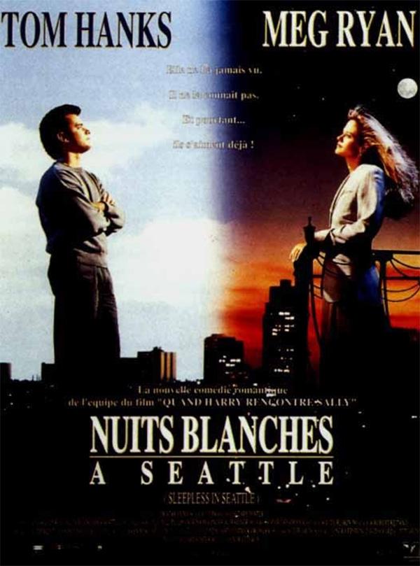 Nuits blanches à Seattle comédie romantique