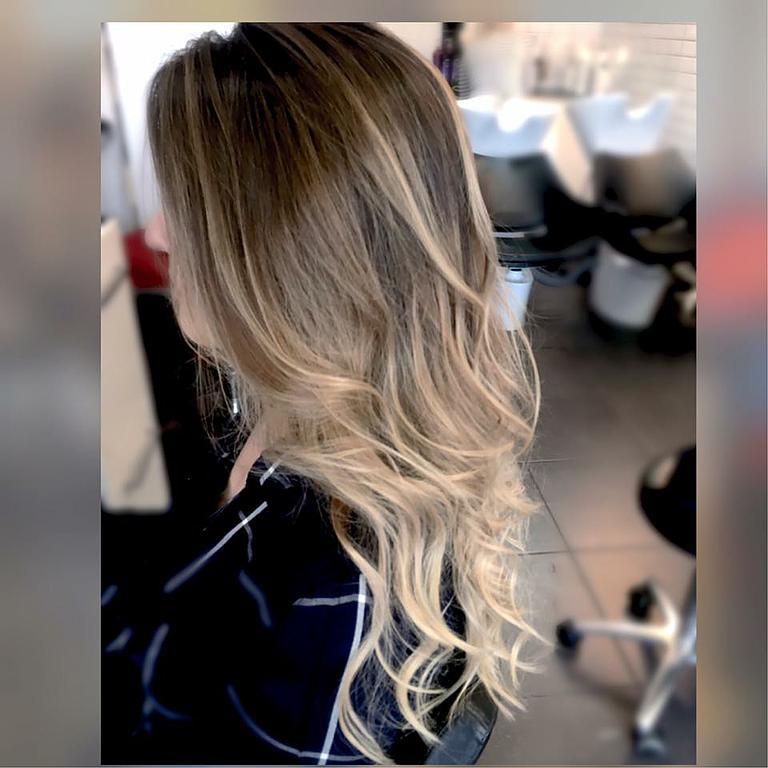 Ombré hair cheveux long