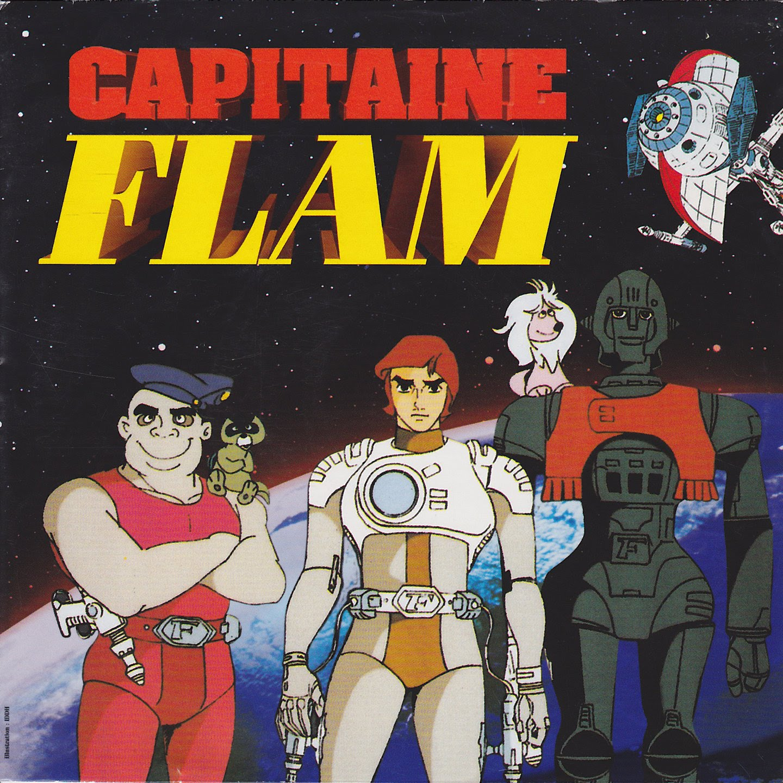 dessin animé capitaine flam