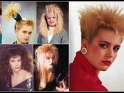 filles dans les années 80
