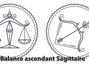 Balance ascendant Sagittaire