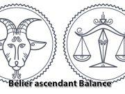 Bélier ascendant Balance