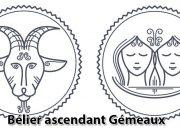 Bélier ascendant Gémeaux