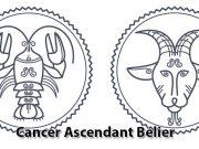 Cancer ascendant Bélier