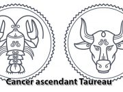 Cancer ascendant Taureau
