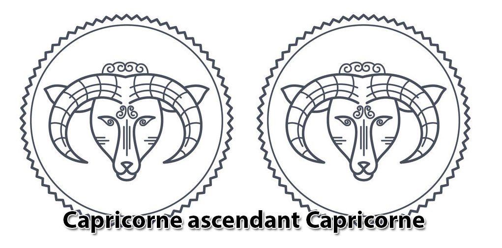Capricorne ascendant Capricorne