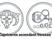 Capricorne ascendant Verseau