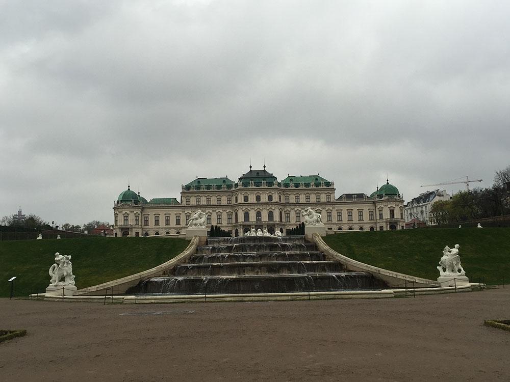 château de Schönbrunn voyage à vienne