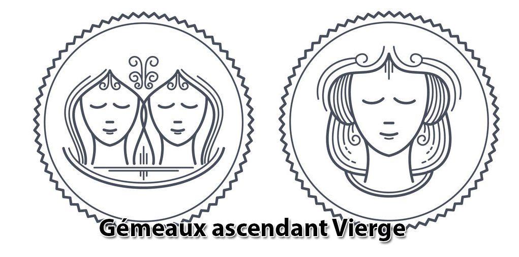 Gémeaux ascendant Vierge