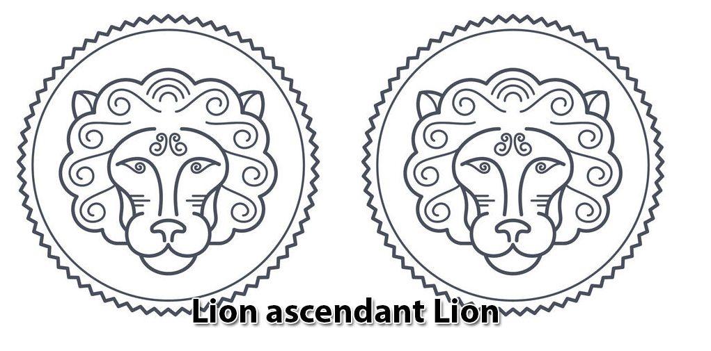 Lion ascendant Lion