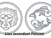 Lion ascendant Poisson