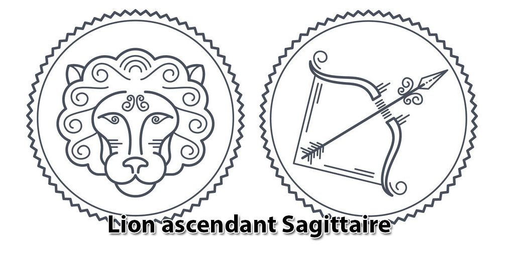 sagittaire ascendant lion horoscope
