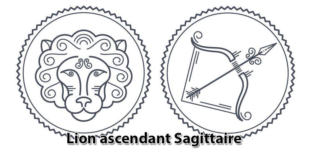 Lion ascendant Sagittaire