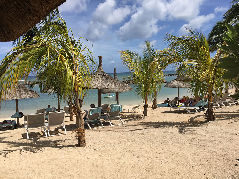 plage privée Île Maurice