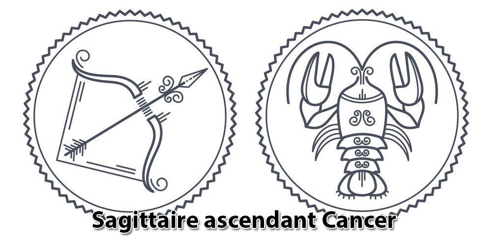 Sagittaire ascendant Cancer