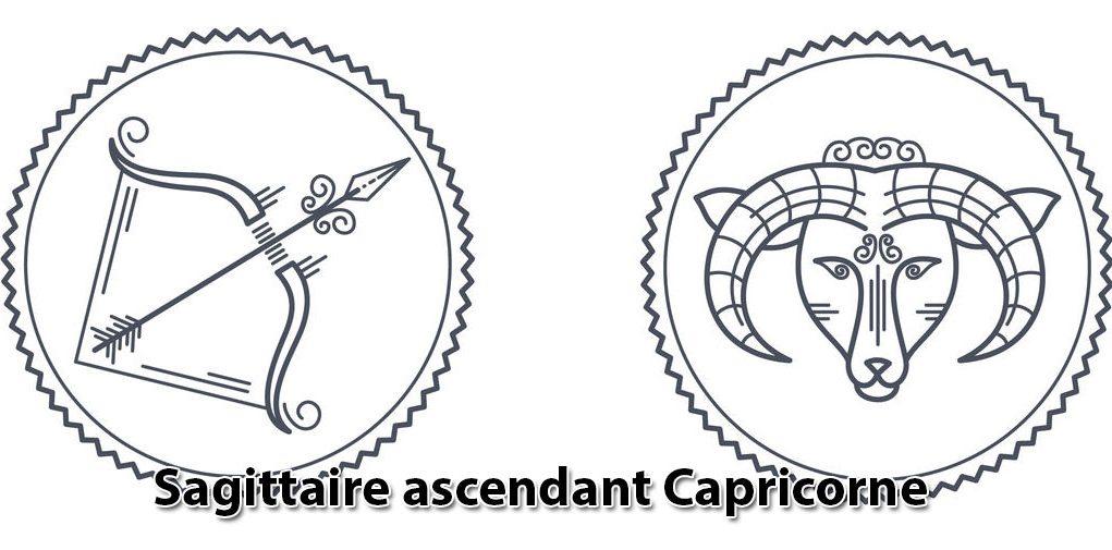 Sagittaire ascendant Capricorne