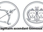 Sagittaire ascendant Gémeaux