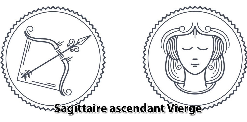 Sagittaire ascendant Vierge