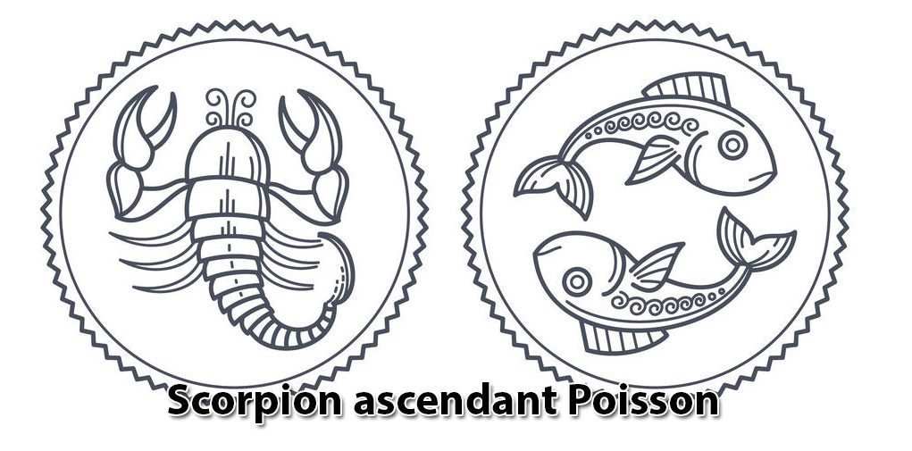 Scorpion ascendant Poisson