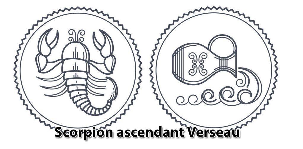 Scorpion ascendant Verseau