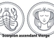Scorpion ascendant Vierge