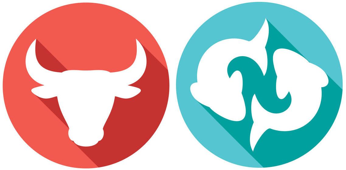 signe astrologique du Taureau ascendant Poisson
