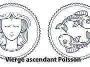 Vierge Ascendant Poisson