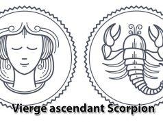 Vierge ascendant Scorpion