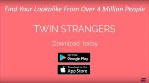 application sosie Twin Strangers